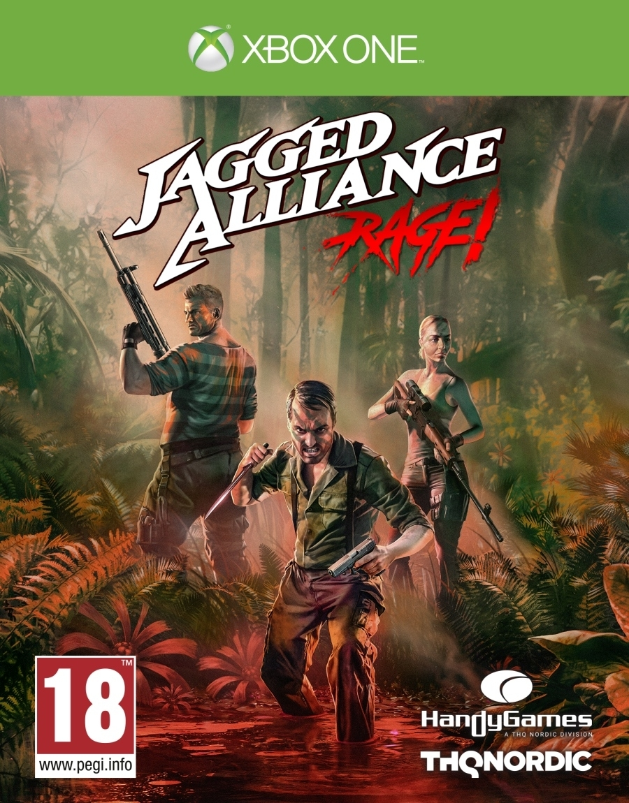 Jagged Alliance Rage (Xbox one)